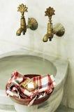 Turkish bath. Beautiful Turkish bath and still life Stock Photography
