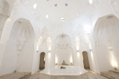 Turkish bath. An empty Royalty Free Stock Photo