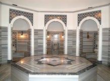 Turkish bath (Hamam) at hotel's spa stock images