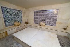 Turkish bath hamam interior empty traditional Stock Images