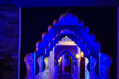 Turkish bath hamam. Interior in Large turkish bath hamam n luxury health spa Royalty Free Stock Photos
