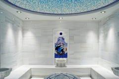 TURKISH BATH HAMMAM. Interior of the national turkish bath hammam Stock Images