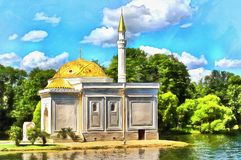 Turkish bath Pavilion Catherine Park Tsarskoe Selo