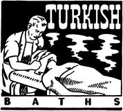 Turkish Baths Royalty Free Stock Photo