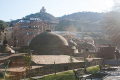 Turkish baths in the sun Stock Photography