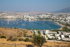 Turkish bay on  Aegean Sea Stock Image