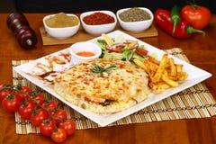 Turkish Bazlama Sandwic Стоковые Изображения RF