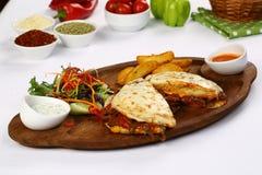 Turkish Bazlama Sandwic Стоковые Фото