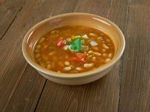 Turkish beans dishes Stock Image