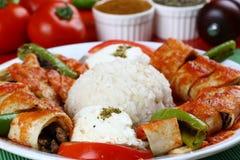 Turkish Beyti Kebap stock images