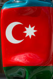 Turkish Big Statue`s Flag Candy Shaped Stock Photos