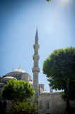 Turkish Blue Mosque in Istanbul Stock Photos