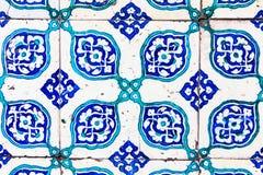 Turkish Blue Tile Stock Images