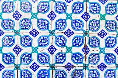 Turkish Blue Tile Royalty Free Stock Images
