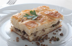 Turkish Borek - Su boregi Royalty Free Stock Images