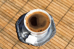 Turkish / Bosnian coffee royalty free stock photos