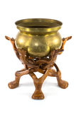 Turkish Brass Bowl Stock Photo