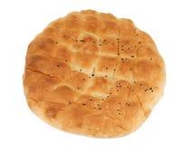 Turkish bread. Pita flat bread Royalty Free Stock Photography