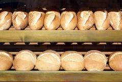 Turkish bread. In the window of bakery, Turkey Royalty Free Stock Photo