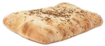 Turkish bread with sesame seeds Stock Photo