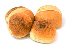 Turkish bread, tiny bread, sesame bread, bread in bag, pictures of döner kebap bread Stock Photo