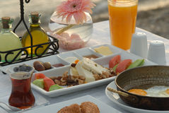 Turkish breakfast Stock Images