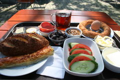 Turkish Breakfast Stock Image