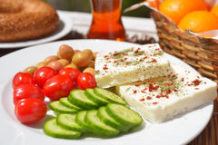 Turkish breakfast Royalty Free Stock Image