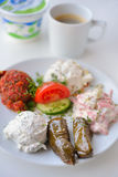 Turkish breakfast Royalty Free Stock Photo