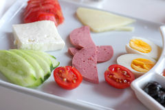 Turkish breakfast Royalty Free Stock Photos