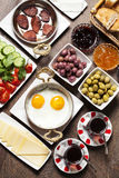 Turkish breakfast Royalty Free Stock Image