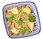 Turkish bulgur salad Royalty Free Stock Photography