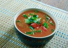 Turkish bulgur soup Royalty Free Stock Photo