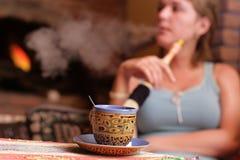 Turkish cafe Royalty Free Stock Images