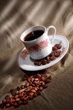 Turkish caffee. Coffee gringer before cup of coffee Royalty Free Stock Photo