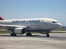 Turkish Cargo Airbus A310 Stock Image