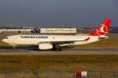 Turkish Cargo Royalty Free Stock Photography
