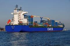 Turkish cargo ship HILDE A Stock Photography