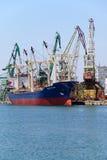 Turkish cargo ship MEZYET ANA Stock Photo