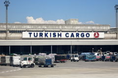Turkish Cargo terminal Stock Photo
