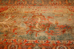 Turkish carpet Royalty Free Stock Photo
