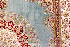 Turkish Carpet Background. Traditional middle eastern turkish and persian carpet background Royalty Free Stock Photo