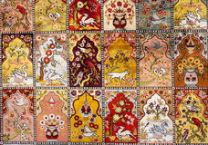 Turkish Carpet Background Royalty Free Stock Photos