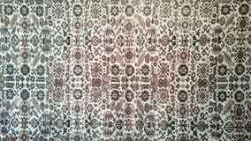 Turkish Carpet Background Royalty Free Stock Photo