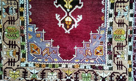 Turkish Carpet Background Stock Images