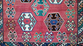 Turkish Carpet Background Stock Image