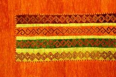 Turkish carpet detail Stock Photography
