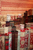 Turkish carpet at market Royalty Free Stock Photography