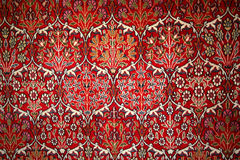 Turkish carpet with pattern Royalty Free Stock Image