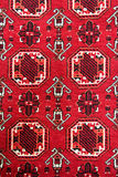 Turkish carpet with pattern Royalty Free Stock Photo
